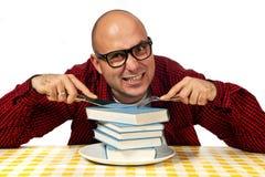 Affamato per conoscenza Fotografia Stock