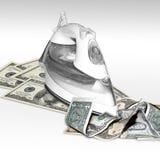 Affare con finanza Fotografia Stock Libera da Diritti