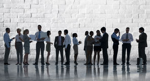 Affare corporativo Team Discussion Meeting Concept Fotografie Stock