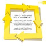 Affare 3D infographic sottragga la priorità bassa Immagine Stock