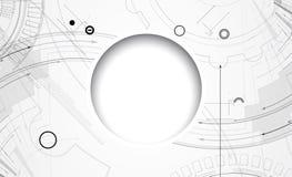 Affare del fondo di tecnologia & direzione astratti di sviluppo Fotografie Stock
