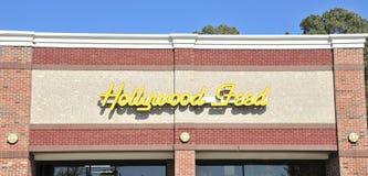 Affare dell'alimentazione di Hollywood Immagini Stock