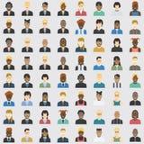 Affare dell'avatar ed elemento privato dell'insieme 64 Fotografia Stock Libera da Diritti