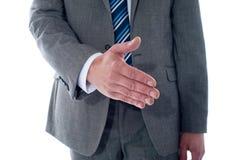 Affare di affari, colpo del primo piano Fotografia Stock Libera da Diritti