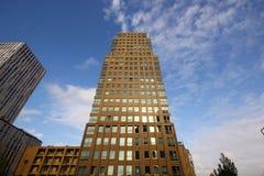 Affare di architettura della costruzione del grattacielo alto Fotografie Stock