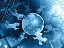 Affare di computer Fotografia Stock Libera da Diritti