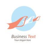 Affare di logo Immagini Stock