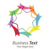 Affare di logo Fotografia Stock