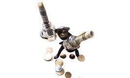 Affare di scimmia Immagine Stock