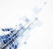 Affare di tecnologie informatiche di Internet futuristico di scienza alto illustrazione di stock