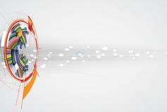 Affare di tecnologie informatiche di Internet futuristico di scienza alto Fotografia Stock Libera da Diritti