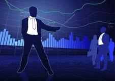 Affare e finanza illustrazione vettoriale