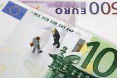 Affare finanziario Fotografie Stock