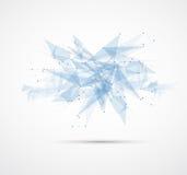 Affare futuristico di tecnologie informatiche di Internet illustrazione vettoriale
