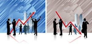 Affare globale. Immagine Stock
