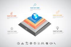 Affare Infographic Immagine Stock