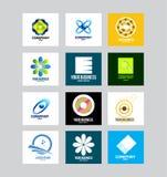Affare Logo Set corporativo Fotografie Stock Libere da Diritti