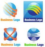 Affare Logo Sphere Immagine Stock