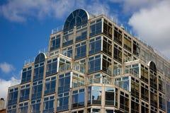Affare moderno e costruzione al minuto Deansgate, Manchester Fotografia Stock