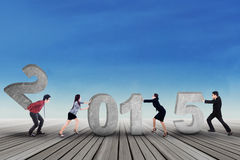 Affare numero componente 2015 del gruppo Fotografia Stock