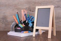 Affare o accessori della scuola Fotografie Stock Libere da Diritti