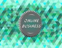 Affare online Immagini Stock