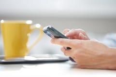 Affare SMS Immagine Stock