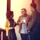 Affare Team Coffee Break Relax Concept Immagine Stock