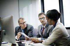 Affare Team Corporate Organization Meeting Concept Immagini Stock Libere da Diritti