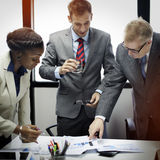 Affare Team Corporate Organization Meeting Concept Fotografia Stock Libera da Diritti