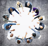 Affare Team Discussion Meeting Analysing Concept Fotografia Stock