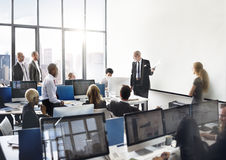 Affare Team Discussion Meeting Corporate Concept Fotografie Stock Libere da Diritti