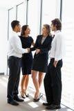 Affare Team Having Informal Meeting Immagine Stock Libera da Diritti