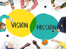 Affare Team Meeting Brainstorming Planning Concept Fotografie Stock