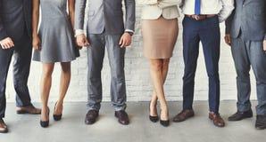 Affare Team Office Worker Entrepreneur Concept Fotografia Stock