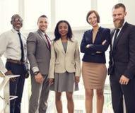 Affare Team Office Worker Entrepreneur Concept Fotografia Stock Libera da Diritti