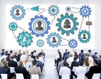 Affare Team Partnership Collaboration Support Concep della Comunità Immagine Stock Libera da Diritti