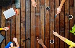 Affare Team Planning Project Meeting Concept Fotografie Stock