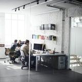 Affare Team Professional Occupation Workplace Concept fotografia stock libera da diritti