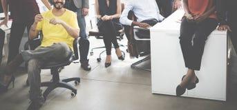 Affare Team Professional Occupation Workplace Concept immagine stock libera da diritti