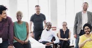 Affare Team Professional Occupation Workplace Concept fotografie stock libere da diritti