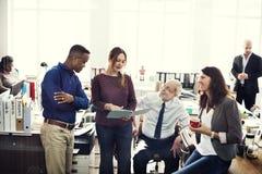 Affare Team Working Office Worker Concept Fotografia Stock