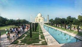 Affascinare di Taj Mahal fotografia stock libera da diritti