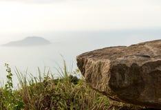 Affe-Berg u. x28; Sohn Tra Peninsula& x29; Danang Vietnam 2016 Stockfotografie