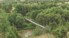 Affe-Brücke Lizenzfreie Stockbilder