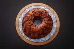 Affe-Brot mit Karamell und Zimt Lizenzfreies Stockfoto