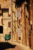Affe in der Urbino-Straße Stockbild