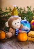 Affe des neuen Jahres Lizenzfreie Stockfotos