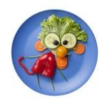 Affe gemacht vom Gemüse Stockbilder
