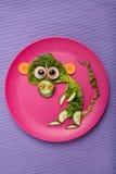 Affe gemacht vom Gemüse Stockfoto